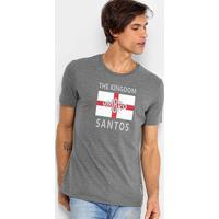 Camiseta Santos The Kingdom Torcedor Umbro Masculina - Masculino