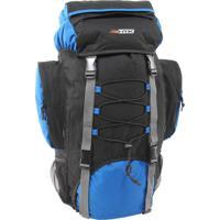 Mochila De Trekking Nautika Cargueira Intruder 60 Litros Azul E Preto