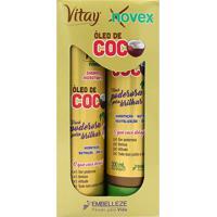 Kit Shampoo + Tratamento Condicionante Novex Óleo De Coco 1 Unidade