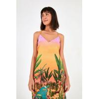 Vestido Curto Jardim Do Pantanal