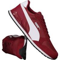 Tênis Puma St Runner V2 - Masculino-Vermelho