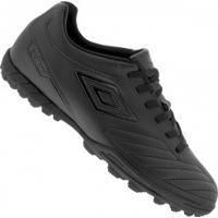 Chuteira Society Umbro Attak Ii - Adulto - Preto
