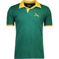 Camisa Rugby Retrômania Springboks 1995 Masculina - Masculino