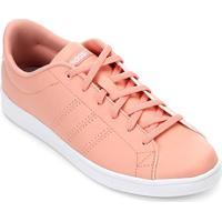 Tênis Adidas Advantage Clean Qt Feminino - Feminino-Pink+Branco