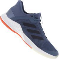 Tênis Adidas Adizero Club - Masculino - Azul Esc/Laranja