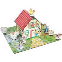 Quebra-Cabeça Fazendinha Do Vovo Carlu Brinquedos Colorido