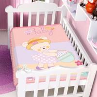 Cobertor Infantil Jolitex Raschel Ursinha Baby Feminino