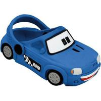 Babuche Bebê Carro Uno Plugt Masculino - Masculino-Azul