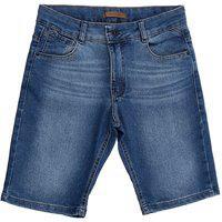 Bermuda Masculina Jeans Reduzy 10 Ao 16 Azul