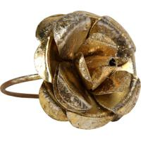 Porta-Guardanapo Artesanal De Metal Decorativo Rose