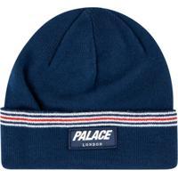 Palace Gorro Com Listras - Azul