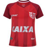 Camisa Do Crb Iii 2018 Nº 10 Rinat - Feminina - Vermelho Vinho 7da8151666b98