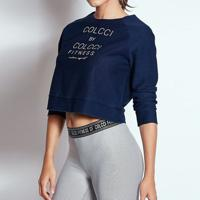 Blusa Colcci Cropped Jeans