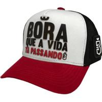 Boné Bora Trucker - Masculino-Vermelho
