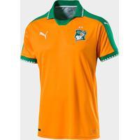 Netshoes  Camisa Seleção Costa Do Marfim Home 16 17 S Nº Torcedor Puma  Masculina - fab04ea94c5aa