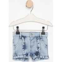 Short Jeans Com Babadosazul Clarolook Jeanslook Jeans