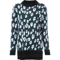 Proenza Schouler Pullover Animal Print - Azul