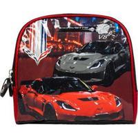 Lancheira Infantil Corvette La33124Cv Masculina - Masculino-Vermelho