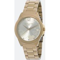 Relógio Feminino Lince Lrg4560L Kv16C2Kx Analógico 5Atm + Conjunto Semijóia