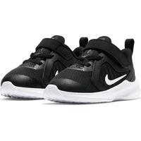 Tênis Infantil Nike Downshifter 10 - Unissex-Preto+Off White