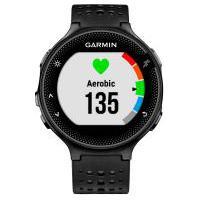 Monitor Cardíaco Com Gps Garmin Forerunner 235 - Preto/Prata