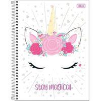 Caderno De Espiral - Capa Dura - Colegial - Blink - Stay Magical - 10 Matérias - Tilibra