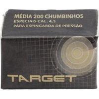 Chumbinho Para Carabina De Pressão - Target 4.5Mm - Unissex