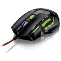 Mouse Multilaser, Gamer Optico Com Quickfire, Verde Mo208