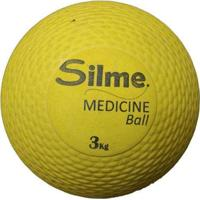 Medicine Ball De Borracha 3 Kg Silme - Unissex