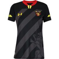 Camisa Do Sport Recife Iii 2019 Under Armour - Feminina - Preto/Amarelo