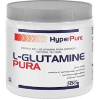 L-Glutamine Pura 300G - Hyperpure - Unissex