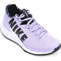 324a8bf3cc248 ... Tênis Nike Court Air Zoom Zero Hc Feminino - Feminino-Roxo+Preto