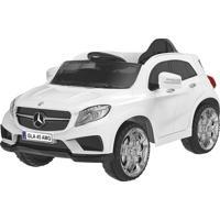 Carrinho Elétrico Xalingo Mercedes Benz 7024 12V C/ Controle Branco