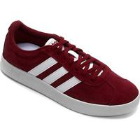 Tênis Adidas Court Masculino - Masculino-Vermelho+Branco