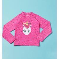 Blusa Unicã³Rnio- Pink & Azulpuket