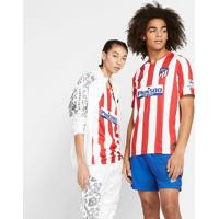 Camisa Nike Atlético De Madrid I 2019/20 Torcedor Pro