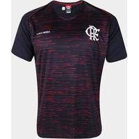 Camiseta Flamengo Hide Masculina - Masculino-Preto