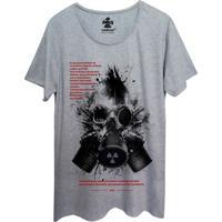 Camiseta Corvuz Radioative Cinza