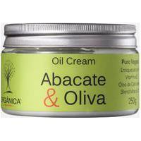 Creme Corporal Abacate & Oliva Oil Cream Orgânica 250Gr