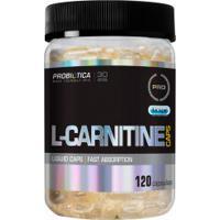 Carnitina Probiótica L-Carnitine - 120 Capsulas