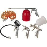 Kit Acessórios Para Compressor De Ar Com 5 Peças - Schulz