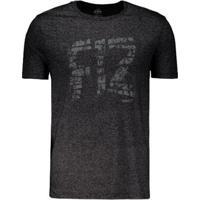 Camiseta Penalty F12 Master Masculina - Masculino-Preto