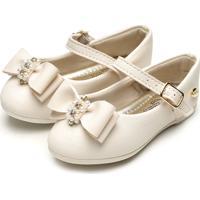 Sapatilha Klin Menina Princesa Baby Off-White