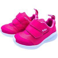 Tênis Infantil Bibi Fly Baby Tecido Hot Pink V21 1136042 - Rosa Pink - 20 Rosa