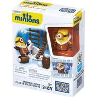 Conjunto Mega Bloks Minions Neve - Mattel