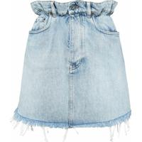Miu Miu Minissaia Jeans - Azul