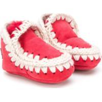 Mou Kids Eskimo Boots - Vermelho
