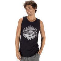 Camiseta Regata Hd Watercolor Shap 6300A - Masculina - Preto