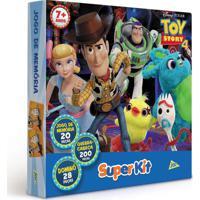 Conjunto De Jogos - Dominó, Quebra Cabeça E Jogo Da Memória - Toy Story 4 - Disney - Toyster