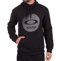 Blusa Canguru Oakley Platinum Masculino - Masculino-Preto